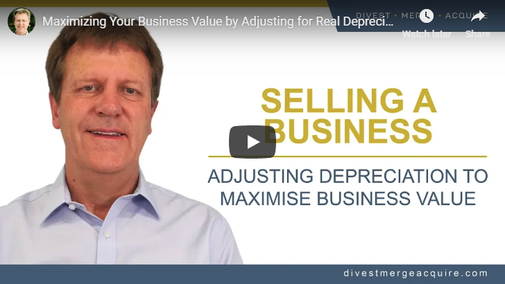 Adjusting Depreciation to Maximize Business Value