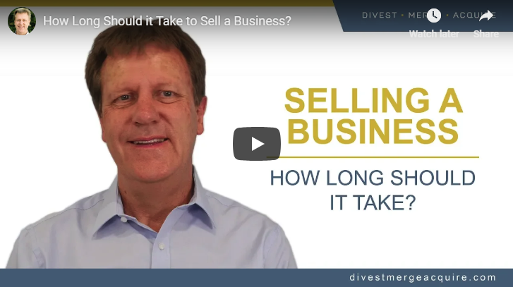 How Long Should it Take to Sell a Business
