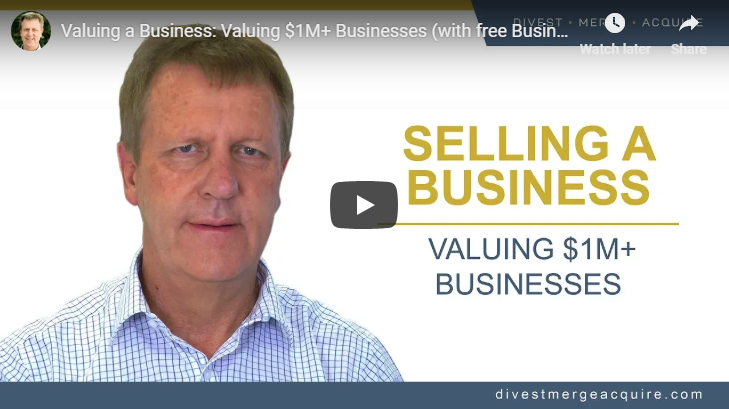 How to sell a business Valuing 1M