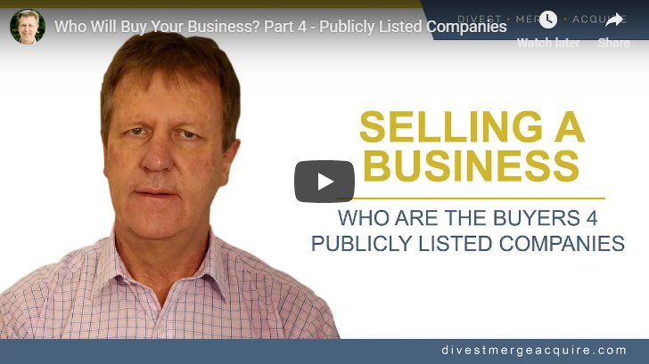 Who will buy your business Part 4